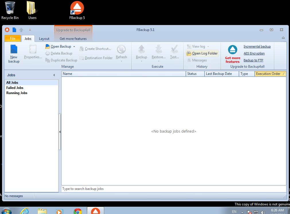 Как сделать бэкап для файла 656