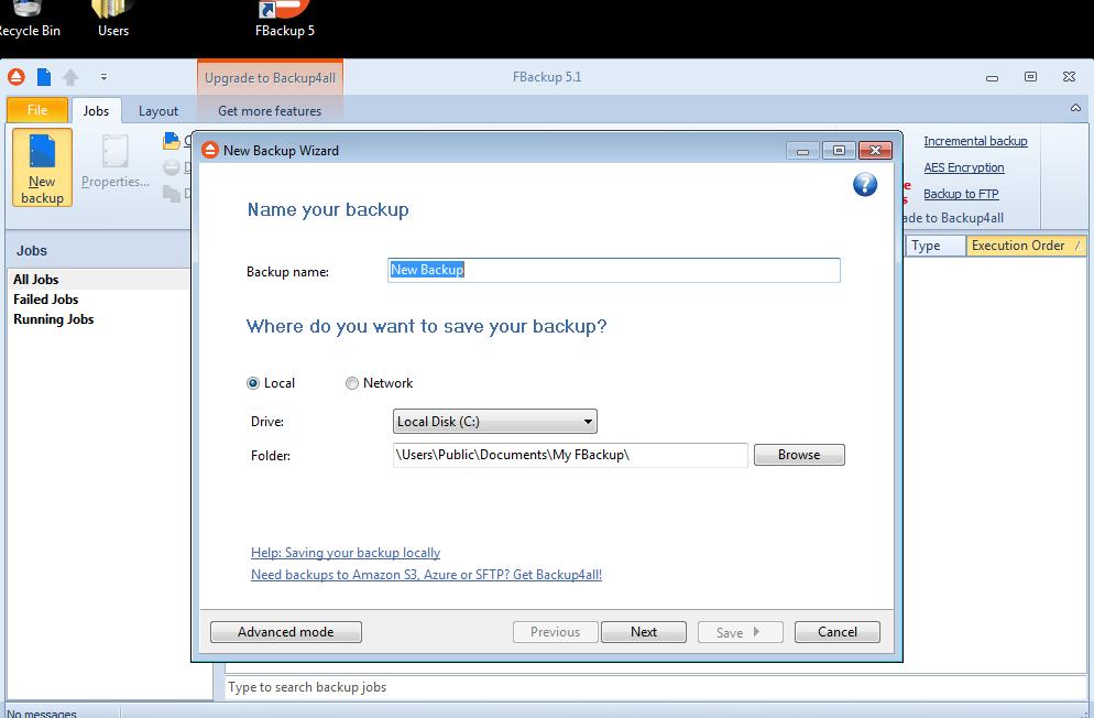Как сделать бэкап для файла 597