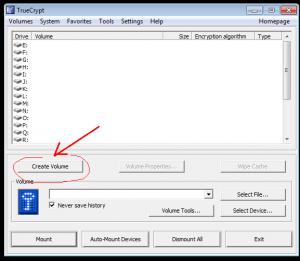Как пользоваться truecrypt в windows, скриншот 01