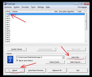 Как пользоваться truecrypt в windows, скриншот 08